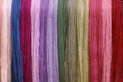 Natural dyed alpaca yarn