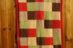 Hand spun, naturally dyed, hand knitted baby blankets - BEAUTIFUL COLOURS FROM NATURE